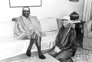 Baba with Swamiji