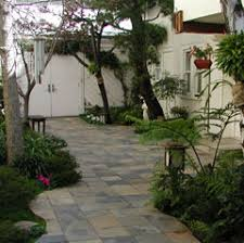 Oakland courtyard