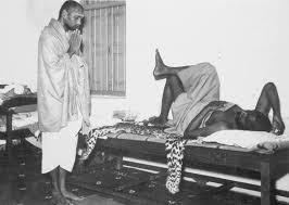 Baba Muktananda with Bhagavan Nityananda